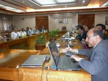 """Meeting on """"Formation of the Knowledge Commission of Bangladesh"""" - 17 February 2013"""
