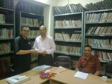 Remuneration of BIIM Derector Mr. Shamsuddin Ahmed is being handed over.