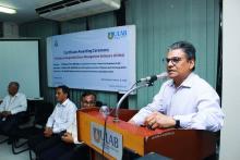 Professor Imran Rahman, VC, ULAB